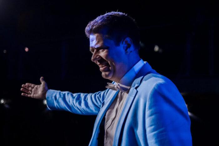 Heiko Zieroth als Speaker im Rampenlicht