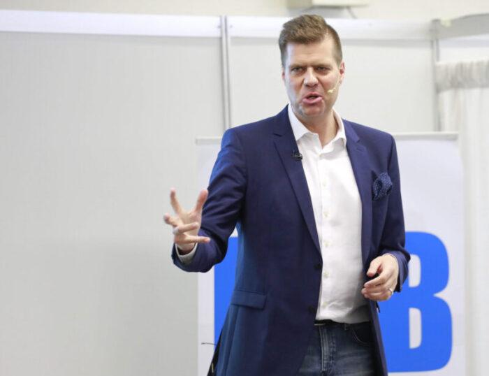 Heiko Zieroth spricht als Speaker auf einer Businessmesse
