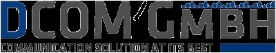 DCOM Logo als Kunde von Heiko Zieroth