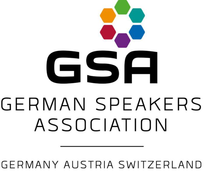 German Speakers Association Logo auf Heiko Zieroth