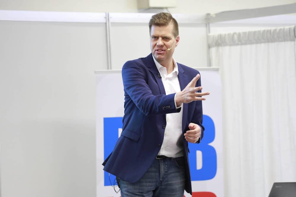 Heiko Zieroth Vortrag Leadership auf einer Businessmesse
